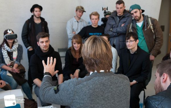 Interviews with experts – Medienforum 2015