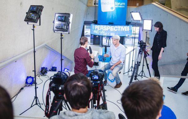Interviews with experts – Medienforum 2016